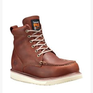 """MEN'S TIMBERLAND PRO® 6"""" SOFT TOE WEDGE BOOTS"""